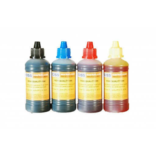 Cerneala T6641 pt. Epson T664 / L130 / L120 / L110 / L210 / L355 / L365 / L455 / L550 / L100 / L300
