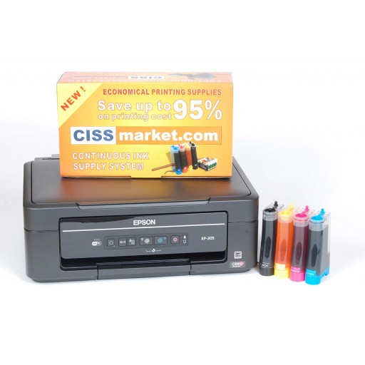 Epson Expression Home XP-215 cu sistem CISS | CISSmarket