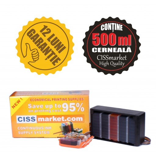 CISS Canon IP3600 MX860 MP540 MP550 sigilat