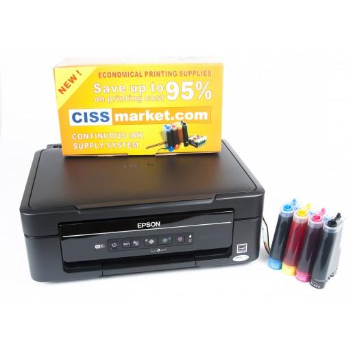 imprimanta sublimare epson xp 405 cu ciss. Black Bedroom Furniture Sets. Home Design Ideas