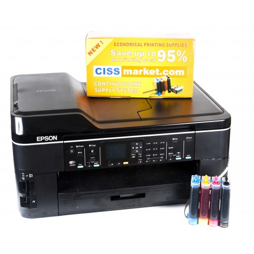 Resigilat: Multifunctional Epson Workforce WF-7525 cu sistem CISS