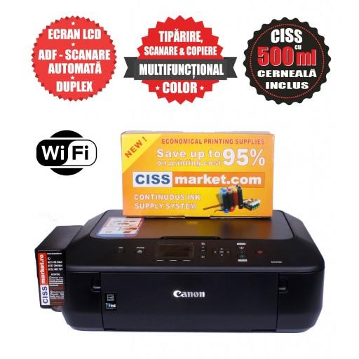 Canon Pixma MG5750 CISS, WiFi, Duplex labels