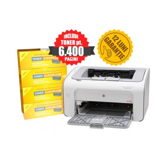 HP LaserJet P1102 + TONER pt. 6400 pagini CISSmarket clar