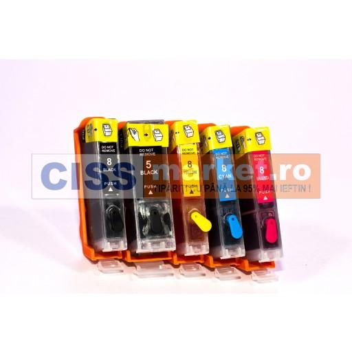 cartuse refilabile canon IP7250 / MG5450 / MG5550 / MG5650 / MG6450 / MG6650 / MX925