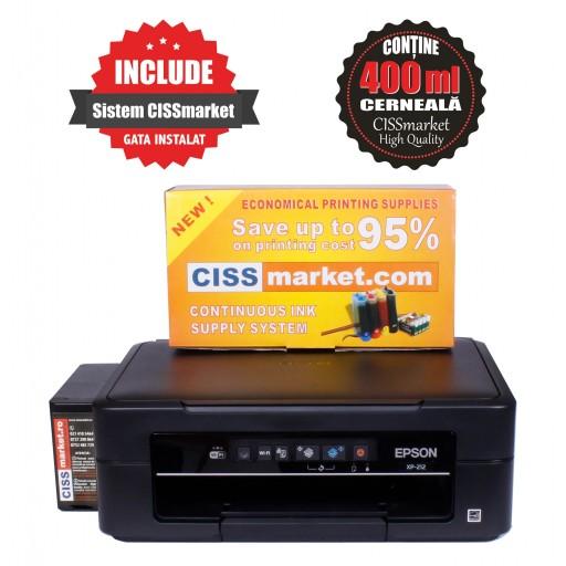 Epson Expression Home XP-245 cu sistem CISS sublimare | CISSmarket badges