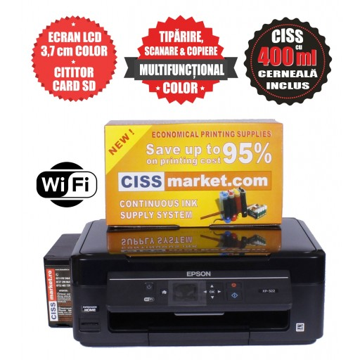 Epson Expression Home XP-3100 CISS, LCD, WiFi