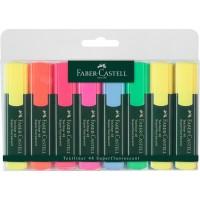 Textmarker Set 8 Culori 1548 Faber-Castell