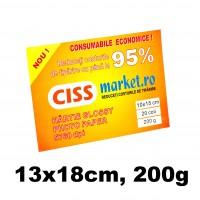 hartie photo glossy cissmarket 13x18 cm 200g