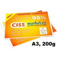 hartie photo glossy cissmarket A3