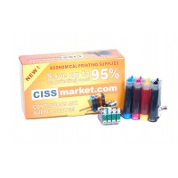 CISS pt. Epson Workforce WF-3010 / WF-3520 / WF-3530 / WF-3540 / WF-7015 / WF-7515 / WF7525