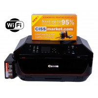 Canon Pixma MX725 CISS, ADF, Duplex, Fax, WiFi