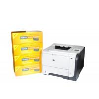 HP LaserJet P3015dn + TONER pt. 5 ani CISSmarket clar