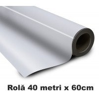 Folie Magnetica Adeziva rola 40 metri x 60cm pt. fotografii magnetice / magneti foto | CISSmarket