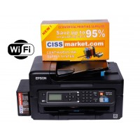 Epson WorkForce WF-2750DWF CISS, Duplex, ADF, Fax, WiFi