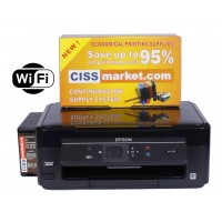 Epson Expression Home XP-352 CISS, LCD, WiFi