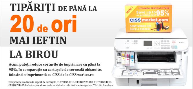 Imprimante office de la CISSmarket.ro