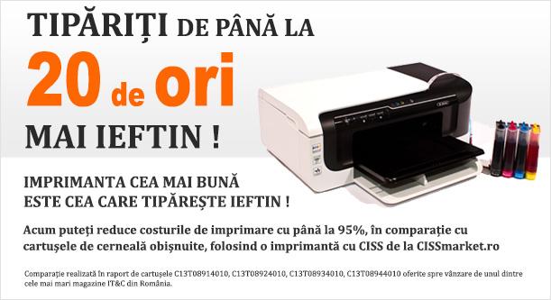 Imprimante CISS de la CISSmarket.ro
